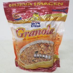 Granola Don Luis Makdamia