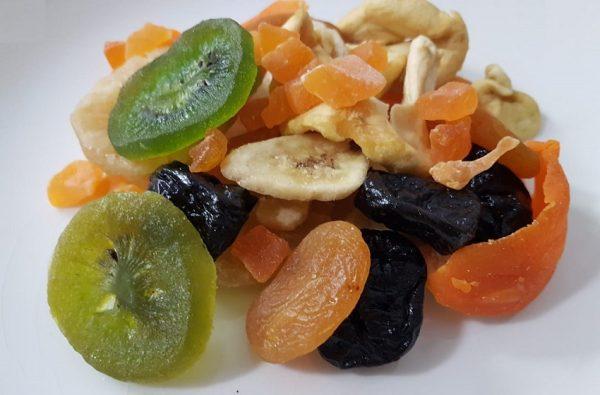Frutas deshidratadas mix